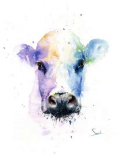 Abstract Cow
