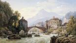 Le Vieux Pont Romain De St. Martin, Italy