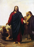 Christ with his Disciples