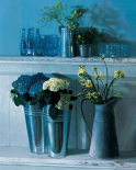 Stillife with silver pots