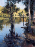 Palms on Water I