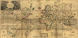 A New and Correct Map of the Whole World 1719