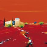 Terre des ocres rouges