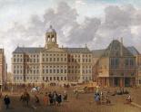 The Town Hall On The Dam, Amsterdam