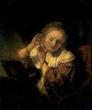 Young Woman Trying Earrings, 1654