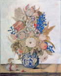 Florentine, Vase of Flowers