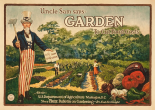 Uncle Sam says - garden to cut food costs, 1917