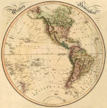Western Hemisphere, 1831