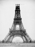 The Eiffel Tower, November 23, 1888