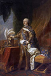 Portrait of King Louis XV of France and Navarre