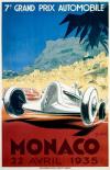 Monaco / 22 Avril 1935