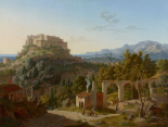 Landscape with the Castle of Massa di Carrara