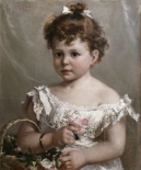 Helene Loeb Lyon As a Young Girl
