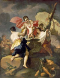 Thetis Dipping The Infant Achilles Into Water From The Styx