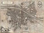Pianta della Citta di Firenze, 1847