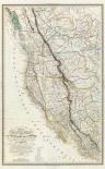 Carte de la cote de lAmerique, 1844