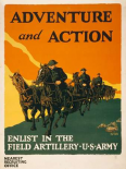 Enlist in the Field Artillery, U.S. Army, 1919