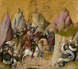 The Meeting of the Three Kings, with David and Isaiah (recto); The Assumption of the Virgin (verso)