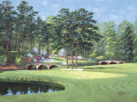 The 11th At Augusta-White Dogwood
