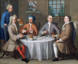 Sir Thomas Sebright, Sir John Bland and Two Friends