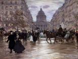 Le boulevard saint Michel