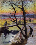 The Footbridge, Lidingobron