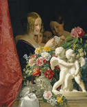 Young Women Reading a Letter