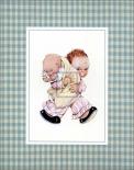 Boy Holding Baby
