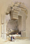 The Doorway of The Temple of Bacchus