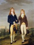 Portrait of Two Eton Schoolboys