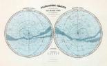 Planisphere Celeste, Hemisphere Austral, Hemisphere Boreal, 1892