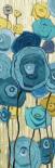 Lemongrass in Blue Panel I