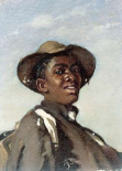 A Negro, Head and Shoulders