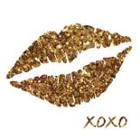 Glitter Lips Sq I
