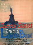 Sunrise or Sunset, Own a Liberty Bond, 1917
