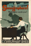 Stenographers! Washington Needs You!, ca. 1918