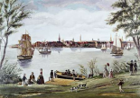 New York Shortly After Independence, Scene of The East River