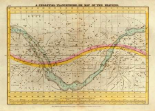 A Celestial Planisphere, or Map of the Heavens, 1835