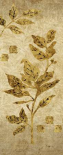 Gold Leaf Branches Panel I