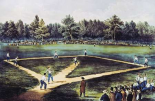 The American National Game of Baseball at The Elysian Fields