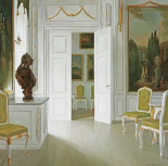 An Interior of a Salon - Fredensborg