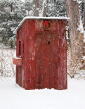 Holiday Outhouse