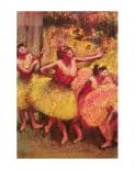 Dancers In Lemon And Pink