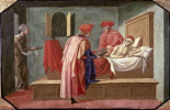 St. Cosmas and St. Damian Caring For a Patient