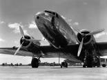 1940s Passenger Airplane