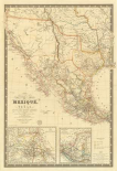 Nouvelle Carte du Mexique, Du Texas, 1840