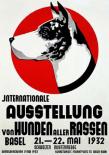 Ausstellung von Hunden
