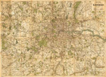 Map of London, 1902