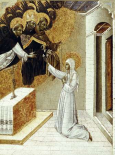 St. Catherine Invested With The Dominican Scapula