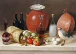 Still Life With a Bird and a Pitcher